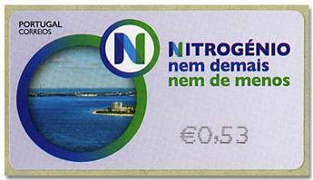 n° 227 - Timbre PORTUGAL Timbres de distributeurs