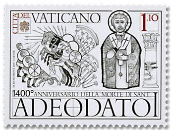 n° 1800/1801 - Timbre VATICAN Poste