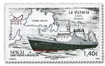 n° 1216 - Timbre Saint-Pierre et Miquelon Poste