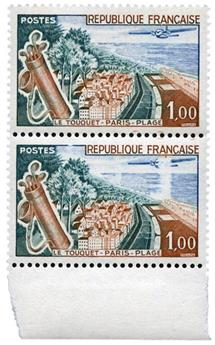 n°1355** - Timbre FRANCE Poste