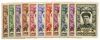 n°171/181** - Timbre INDOCHINE Poste