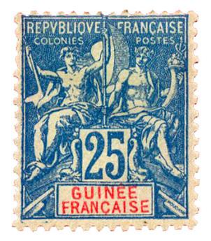 n°16* - Timbre GUINEE Poste