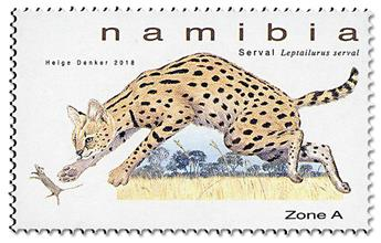 n° 1414/1417 - Timbre NAMIBIE Poste