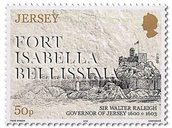 n° 2367/2372 - Timbre JERSEY Poste