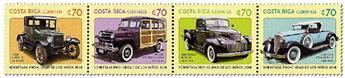 n° 996/999 - Timbre COSTA RICA Poste