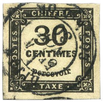 France : Taxe n°6 obl. TB