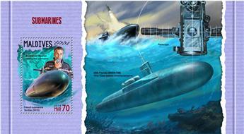 n° 1117 - Timbre MALDIVES Blocs et feuillets