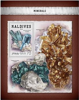 n° 1147 - Timbre MALDIVES Blocs et feuillets