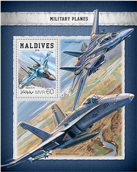 n° 1152 - Timbre MALDIVES Blocs et feuillets