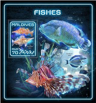 n° 1172 - Timbre MALDIVES Blocs et feuillets