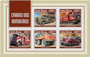 n° 7462/7466 - Timbre GUINÉE-BISSAU Poste