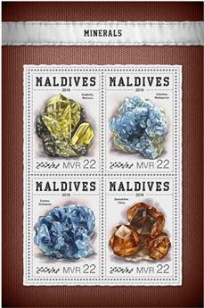 n° 6142/6145 - Timbre MALDIVES Poste