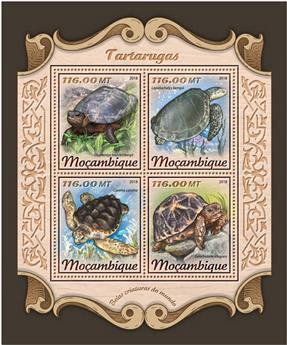 n° 7606/7609 - Timbre MOZAMBIQUE Poste