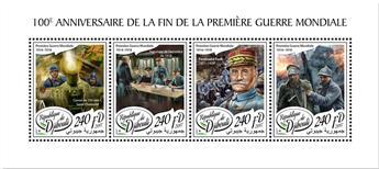 n° 1900/1903 - Timbre DJIBOUTI Poste