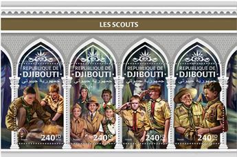 n° 2000/2003 - Timbre DJIBOUTI Poste