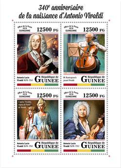 n° 9140/9143 - Timbre GUINÉE Poste