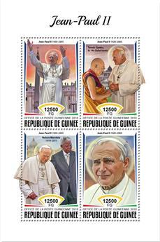 n° 9340/9343 - Timbre GUINÉE Poste