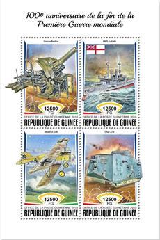 n° 9380/9383 - Timbre GUINÉE Poste