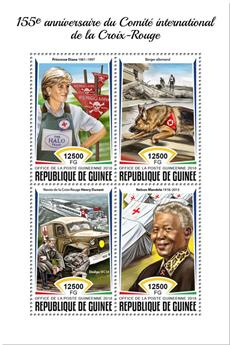 n° 9400/9403 - Timbre GUINÉE Poste