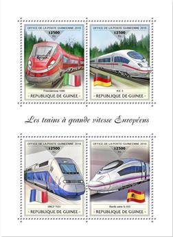 n° 9440/9443 - Timbre GUINÉE Poste