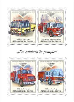 n° 9460/9463 - Timbre GUINÉE Poste