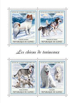 n° 9500/9503 - Timbre GUINÉE Poste