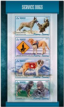 n° 7661/7664 - Timbre SIERRA LEONE Poste