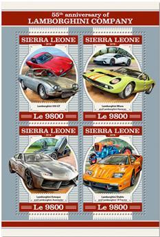 n° 7745/7748 - Timbre SIERRA LEONE Poste