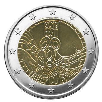 2 EURO COMMEMORATIVE 2019 : ESTONIE (150 ans du premier festival de chanson estonnienne)