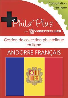 PHILA´Plus en ligne : Andorre Français (12 mois)