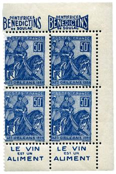 n°257** - Timbre FRANCE Poste