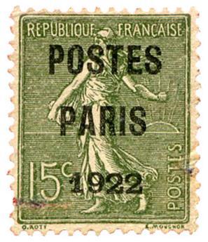 n°31a(*) - Timbre FRANCE Préoblitérés