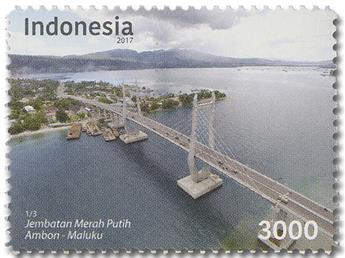 n° 2869/2871 - Timbre INDONESIE Poste