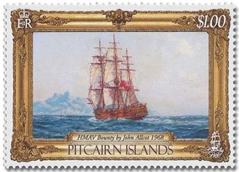 n° 937/940 - Timbre PITCAIRN Poste