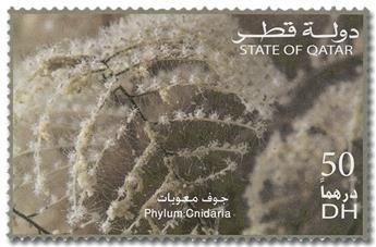 n° 1028/1033 - Timbre QATAR Poste