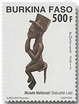 n° 1429 - Timbre BURKINA Poste