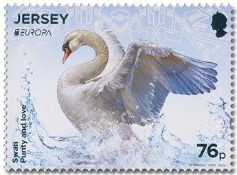 n° 2374/2375 - Timbre JERSEY Poste (EUROPA)