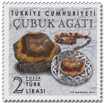 n° 3918/3919 - Timbre TURQUIE Poste