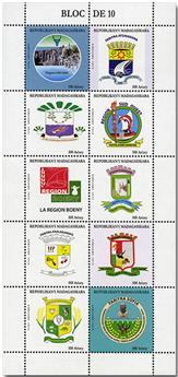 n° 1925/1934 - Timbre MADAGASCAR Poste
