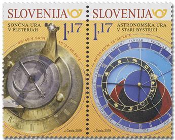 n° 1139/1140 - Timbre SLOVENIE Poste