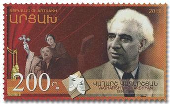 n° 151 - Timbre ARMENIE (Haut-Karabakh) Poste