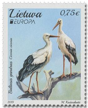 n° 1131/1132 - Timbre LITUANIE Poste (EUROPA)