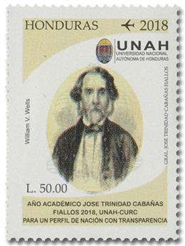 n° 1484 - Timbre HONDURAS Poste aérienne