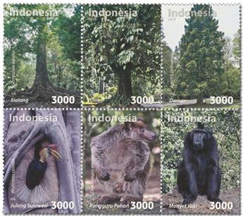 n° 2903/2908 - Timbre INDONESIE Poste