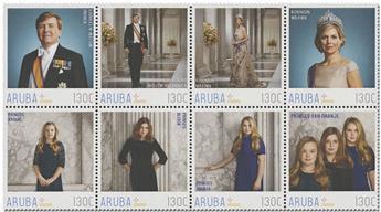 n° 1024/1031 - Timbre ARUBA Poste