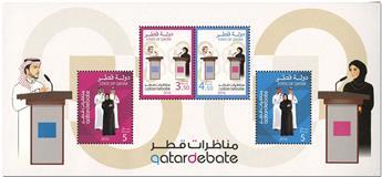 n° 48 - Timbre QATAR Blocs et feuillets