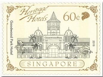 n° 2322/2326 - Timbre SINGAPOUR Poste