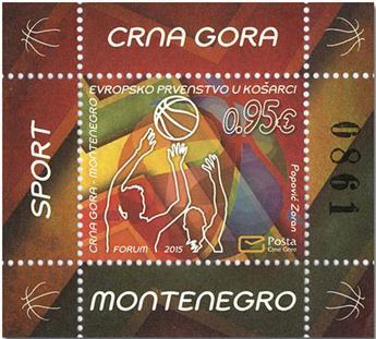 n° 16A - Timbre MONTENEGRO Blocs et feuillets