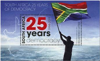 n° 164 - Timbre AFRIQUE DU SUD Blocs et feuillets