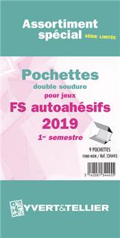 Assortiment de pochettes (double soudure) : 2019-1e sem. (Jeux Autoadhésifs)